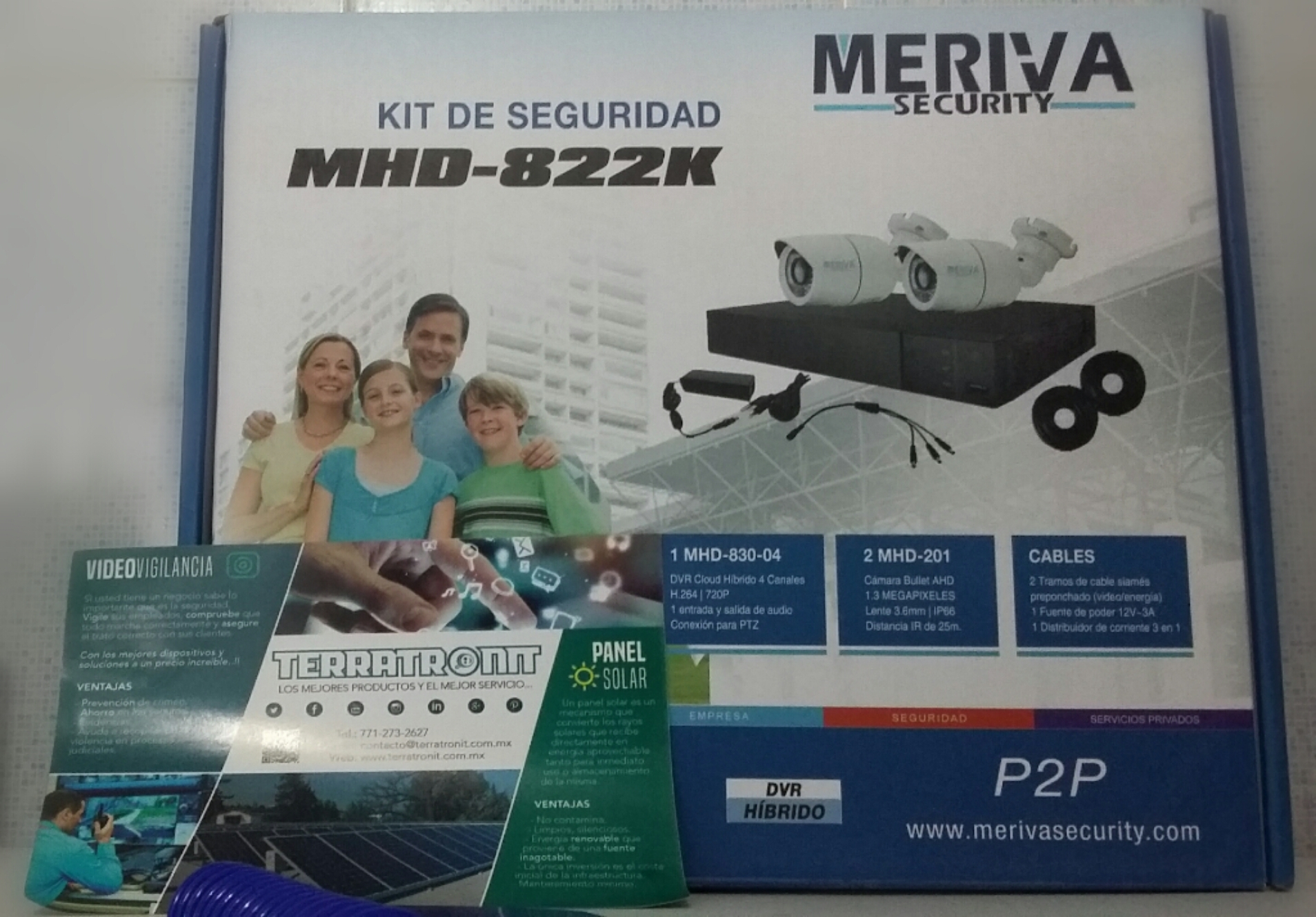 KIT DE SEGURIDAD DE 2 CÁMARAS BULLET